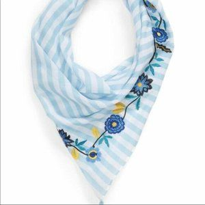 "Rebecca Minkoff scarf ""Embroidered beach stripe"""